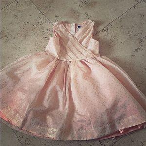 Girls pink Janie and jack dress sz.4
